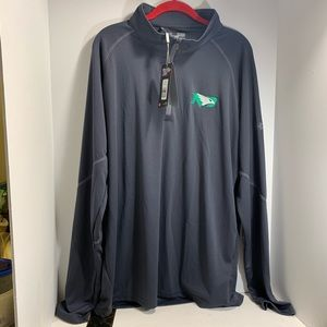 NWT Under Armour Mens ND golf jacket full zip